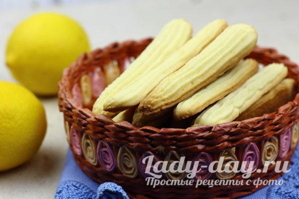 Безумно вкусное печенье «Лимонные палочки»