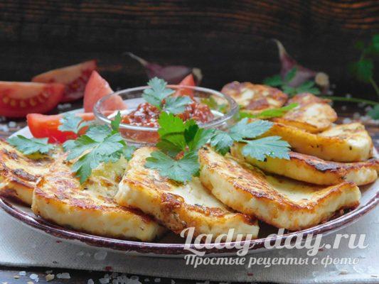 адыгейский сыр жареный рецепты на сковороде
