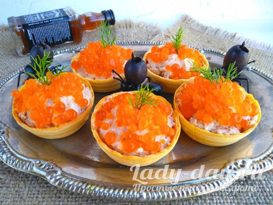 Тарталетки с печенью трески: рецепт с фото самый вкусный