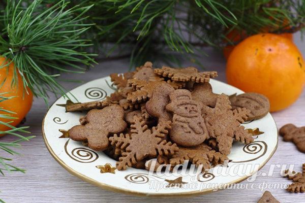 Имбирное печенье: классический рецепт с медом и корицей