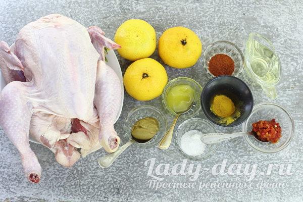 курица и продукты