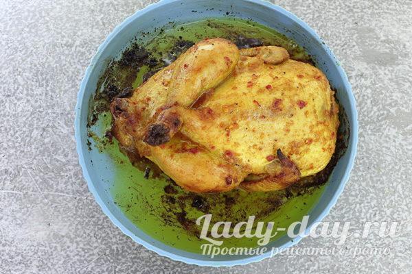 курица из духовки