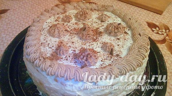 Божественный рецепт торта из песочного теста с белковым коржом