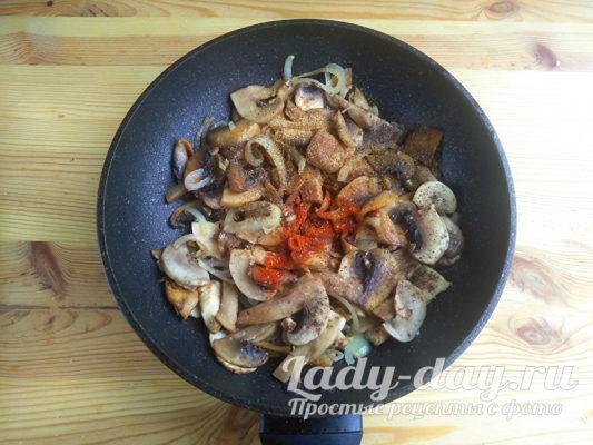 грибы и специи