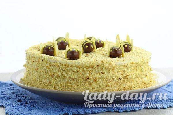 Домашний торт Медовик - самый вкусный рецепт что тает во рту