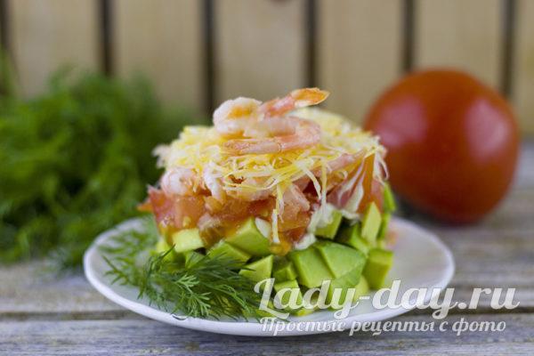 шокирующий салат