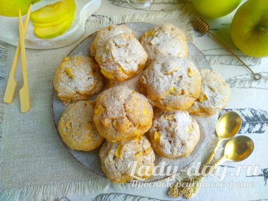 Яблочное печенье - рецепт простой и самый вкусный