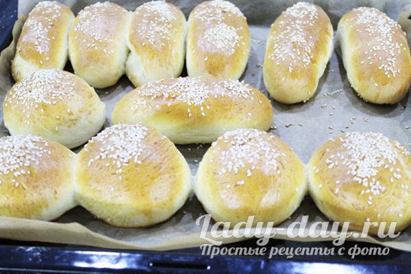 Рецепт булочек для бургеров и хот-догов как в Макдональдсе