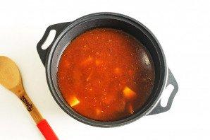 Суп гуляш по-тирольски - фото шаг 7