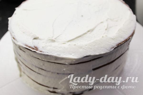 Торт Медовик со сметаным кремом