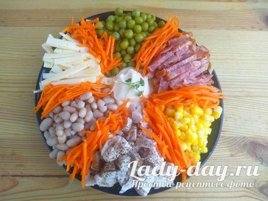 морковь к салату