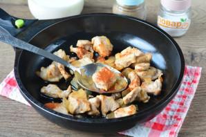 Картофель с мясом в сливках - фото шаг 4