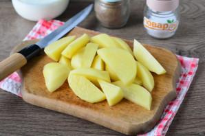 Картофель с мясом в сливках - фото шаг 5