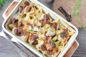 Картофель с мясом в сливках - фото шаг 8