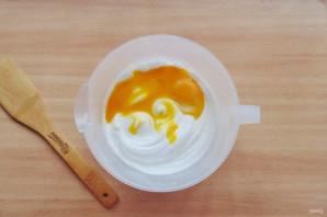Пирожное с кремом - фото шаг 4