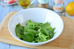 Салат с фетаксой и крабовыми палочками - фото шаг 2