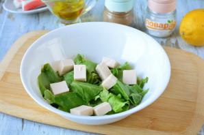 Салат с фетаксой и крабовыми палочками - фото шаг 3