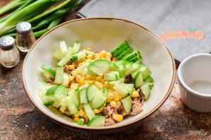 Салат с говядиной и ананасами - фото шаг 4