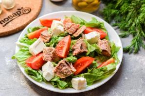 Салат с тунцом и фетой - фото шаг 5