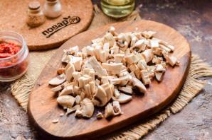 Тефтели с грибами - фото шаг 3