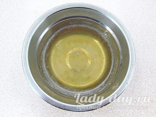 растопить желатин