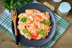 Рис с маринованными грибами - фото шаг 10