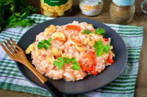 Рис с маринованными грибами - фото шаг 11