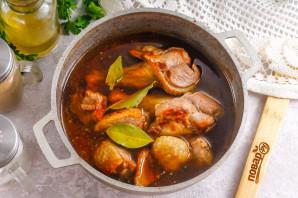 Утка в томатном соусе - фото шаг 3