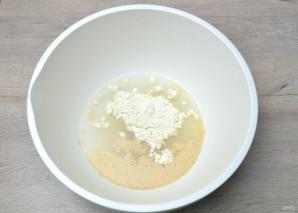 Зерновой багет - фото шаг 2
