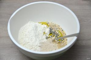 Зерновой багет - фото шаг 4