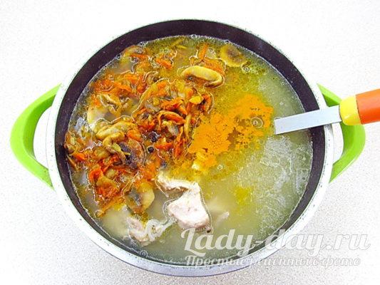 зажарка в суп