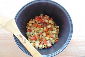 Баклажаны с рисом в мультиварке - фото шаг 6