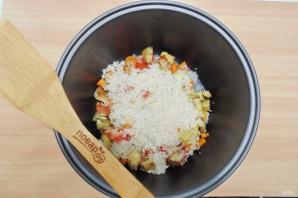 Баклажаны с рисом в мультиварке - фото шаг 7