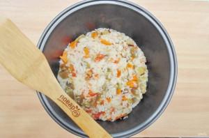 Баклажаны с рисом в мультиварке - фото шаг 8