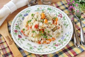 Баклажаны с рисом в мультиварке - фото шаг 9