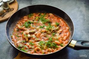 Фасоль с морепродуктами - фото шаг 8