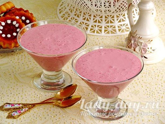 Творожный десерт с клубникой, рецепт с фото пошагово