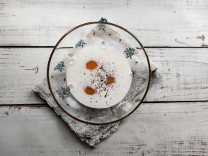 Салат с омлетом и фасолью - фото шаг 3