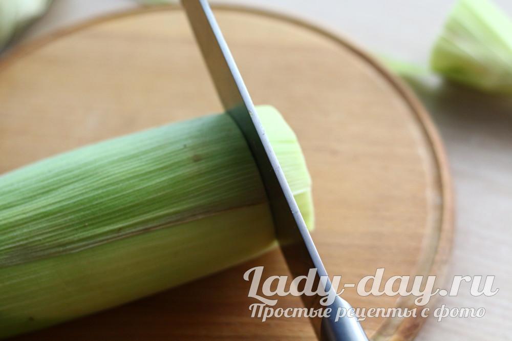 Вкусная кукуруза без варки за 5 минут