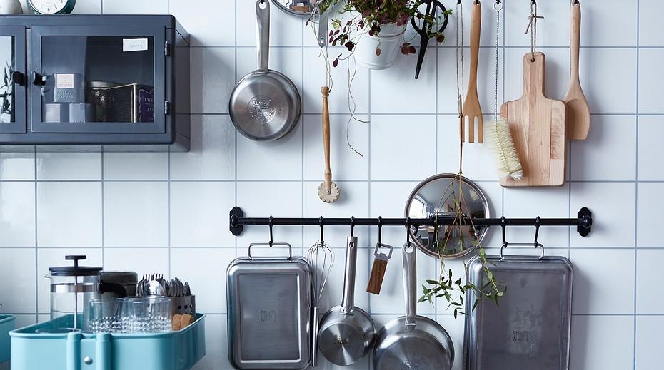 Где хранить крышки от кастрюль на кухне