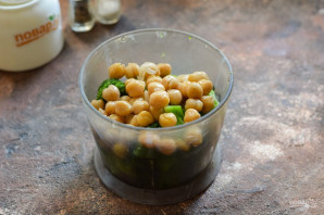 Хумус из брокколи - фото шаг 3