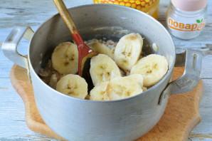 Овсяная каша с бананом и медом - фото шаг 5