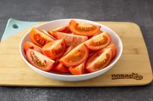 Вяленые помидоры с базиликом - фото шаг 2
