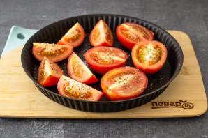 Вяленые помидоры с базиликом - фото шаг 3