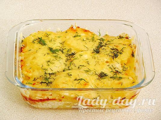 запеканка из картофеля с сыром в духовке