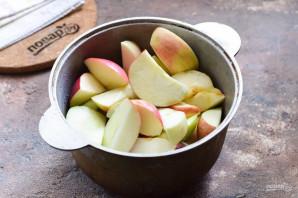 Джем из яблок без сахара - фото шаг 3