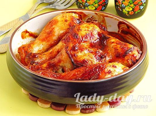 рецепт вкусных куриных ножек в духовке