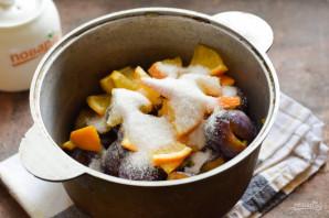 Варенье из сливы с апельсином - фото шаг 4
