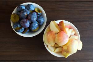 Яблочно-сливовый мармелад - фото шаг 2