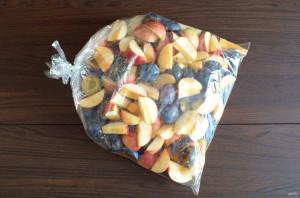 Яблочно-сливовый мармелад - фото шаг 3